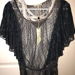 NWT buckle top and body suit
